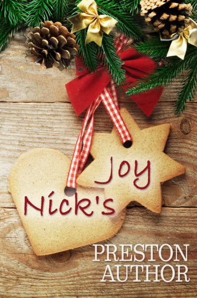 Nick's Joy Christmas premade book cover