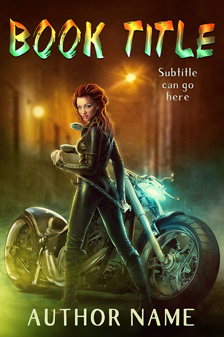 Urban Fantasy with motorcycle