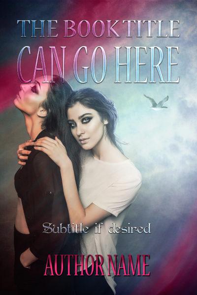 LGBT lesbian gothic girls romance fantasy premade book cover
