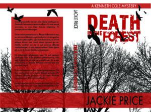 Black and white suspense premade book cover