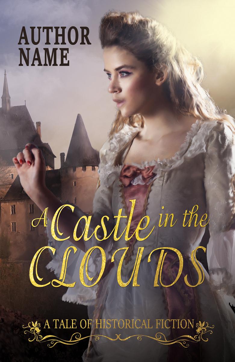 Historical Romance Book Cover : Premade historical or fantasy romance book cover bella