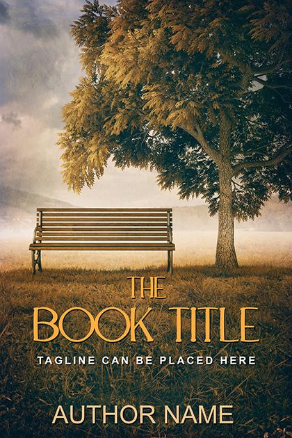 Christian autumn landscape premade book cover 23