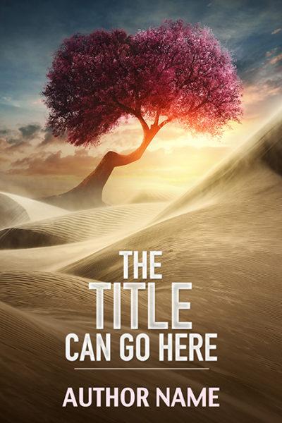 Christian inspirational spring landscape premade book cover